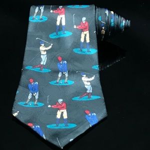 Thinking Of You Ties Golfler Golfing